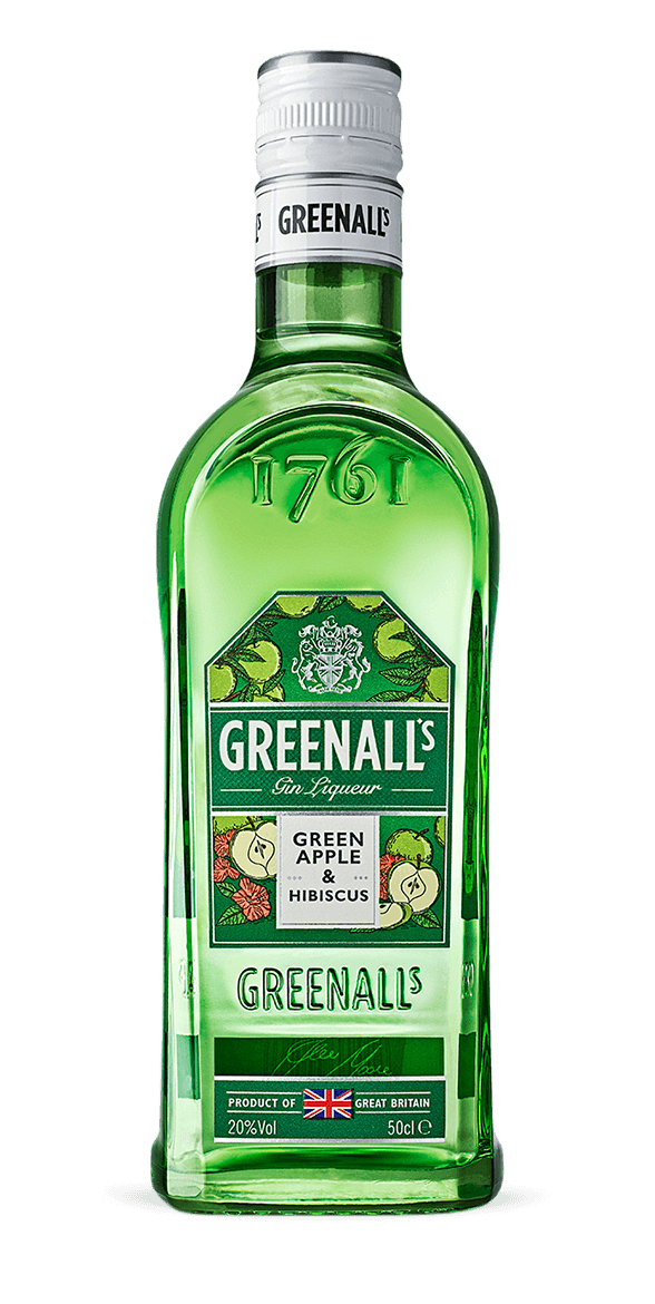Green Apple & Hibiscus Gin Liqueur