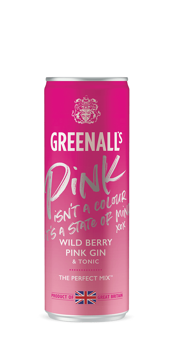 Wild Berry Pink Gin & Tonic
